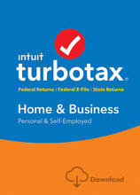 Load image into Gallery viewer, TurboTax Home Business 2017 Download for Windows and MacOS