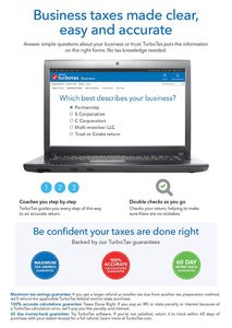 TurboTax Business 2016 for Windows Download