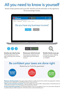 TurboTax Home Business 2017 Download for Windows and MacOS