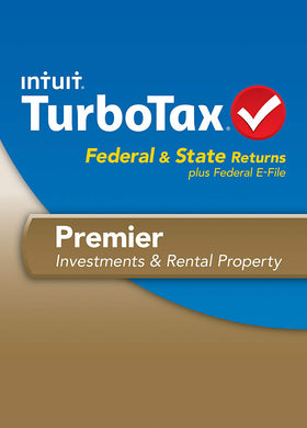TurboTax 2013 Premier Download for Windows and MacOS