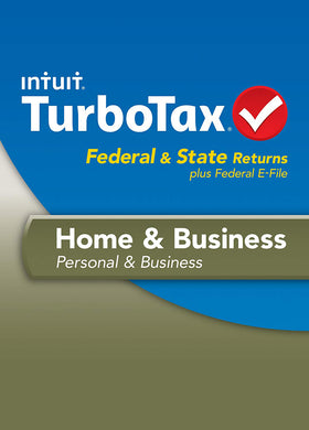 TurboTax 2013 Home and Business Download for Windows and MacOS