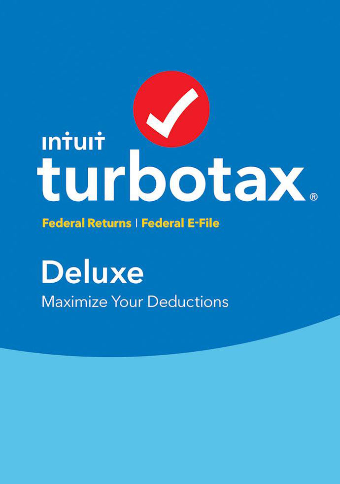 TurboTax Deluxe 2017 Download for Windows and MacOS