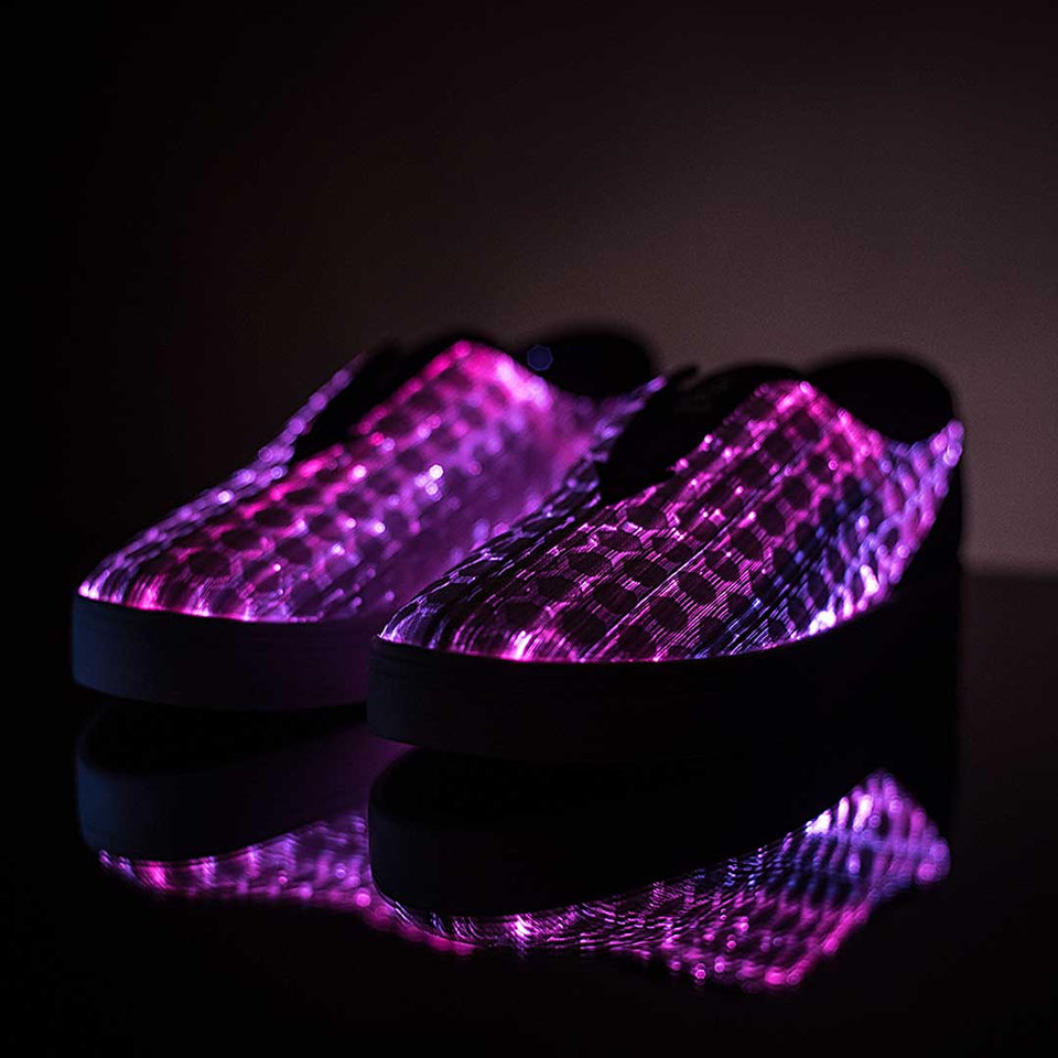 Glow The Revolutionary Sneaker With Full Surface LED
