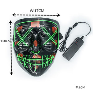 Halloween Party & Festival LED Mask