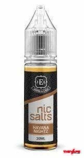 JEL - Havana Nightz MTL NS - 30ml - The Vape Den