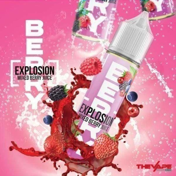Explosion - Mix Berry Juice - 120ml - The Vape Den