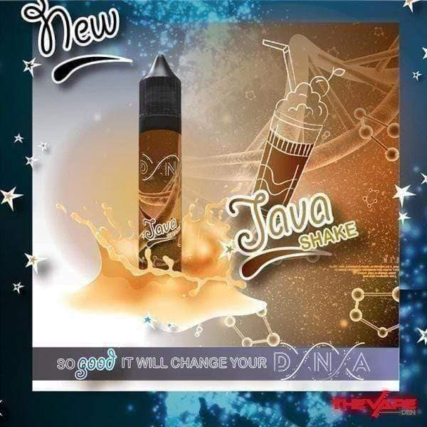 E-Liquid 3 mg DNA - Java Shake - 75ml