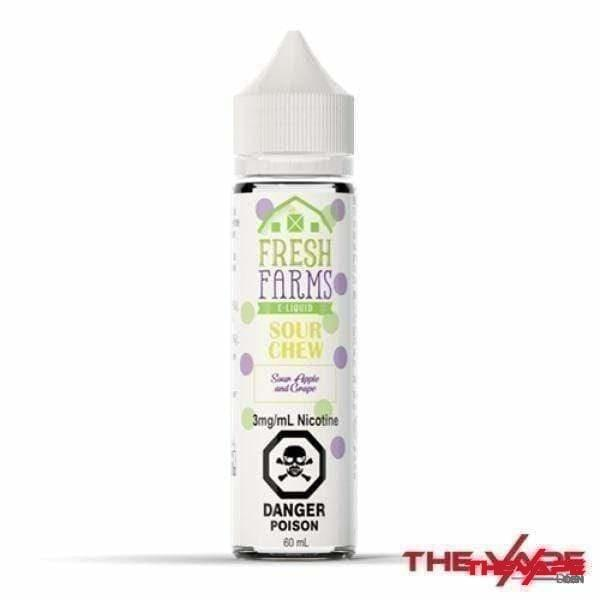 E-Liquid 3 mg Fresh Farms - Sour Chew - 60ml