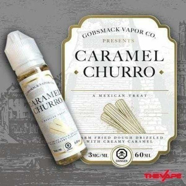E-Liquid 3 mg Gobsmack Vapor Co - Caramel Churro - 60ml