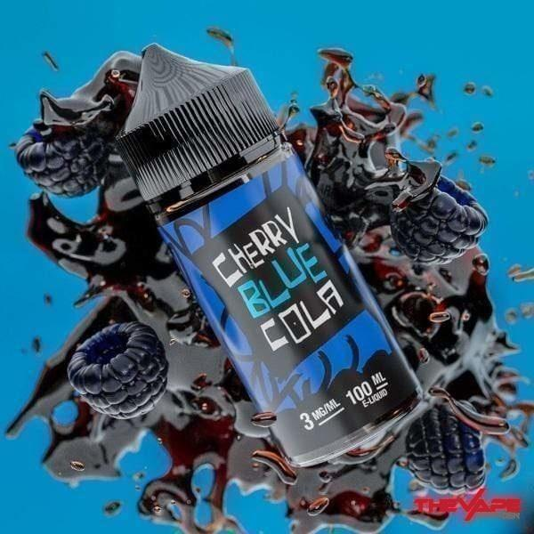 Juiceman - Cherry Blue Cola - 100ml - The Vape Den