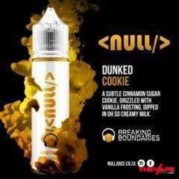 E-Liquid 3 mg Null - Dunked Cookie - 60ml