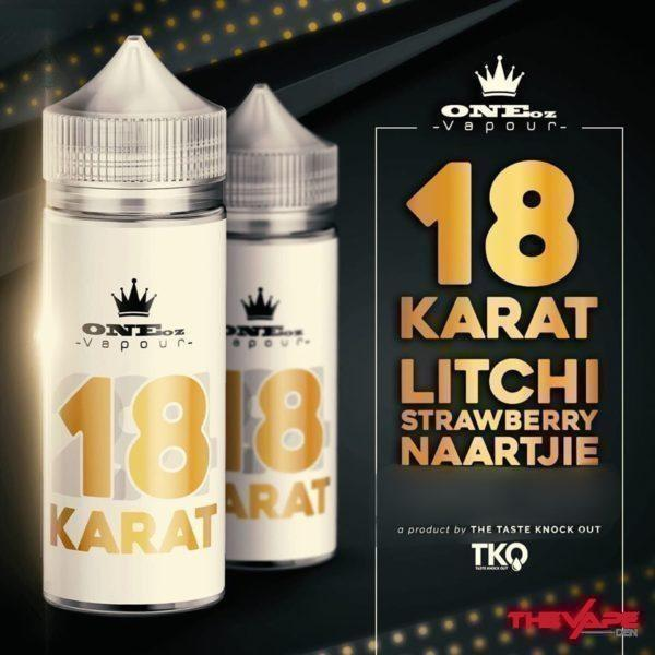 Oneoz Vapour - 18 Karat - 100ml - The Vape Den