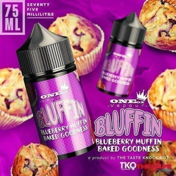 ONEoz Vapour - Bluffin - 75ml - The Vape Den