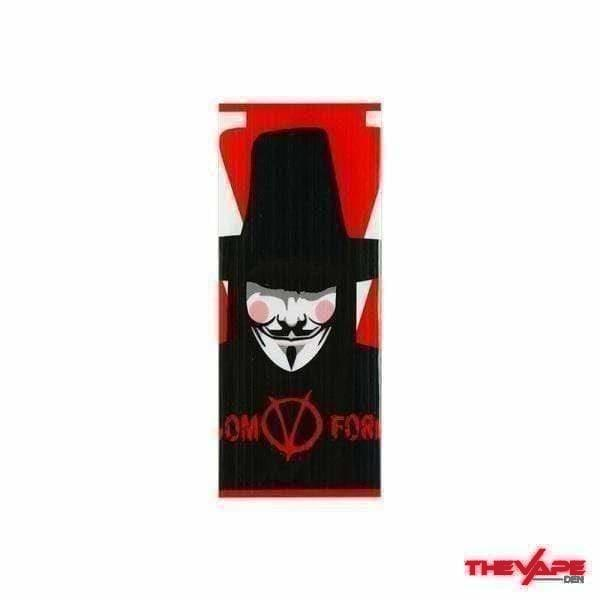 18650 Battery Wraps A12: V for Vendetta - The Vape Den