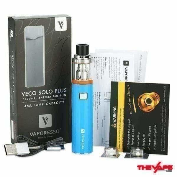 Vaporesso - VECO Plus Solo Kit 3300mAh 4ml - The Vape Den
