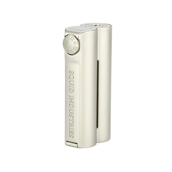 Squid Industries - Double Barrel V3 150W VW MOD Champagne Grey - The Vape Den