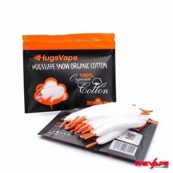 Hugsvape Snow Cotton - The Vape Den