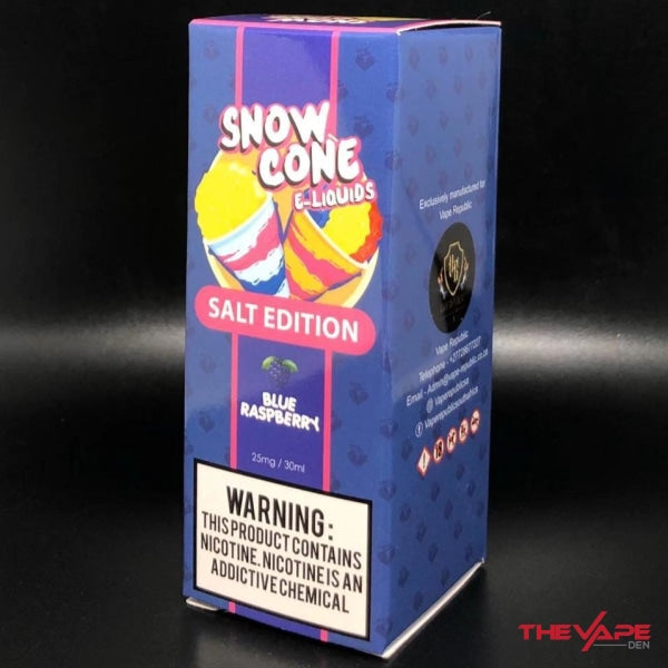 Snow Cone - Blue Raspberry MTL - 30ml - The Vape Den