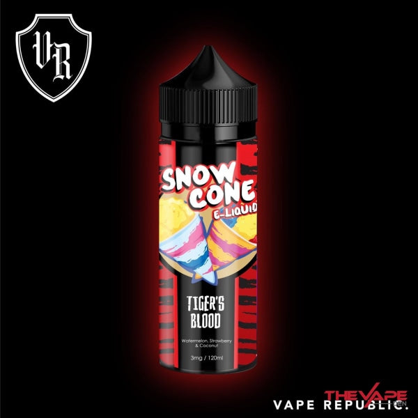 Snow Cone - Tigers Blood - 120ml - The Vape Den