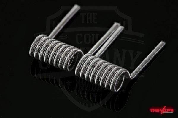 Coil The Coil Company - 8 Wrap Fused Clapton (2x26g/38g)
