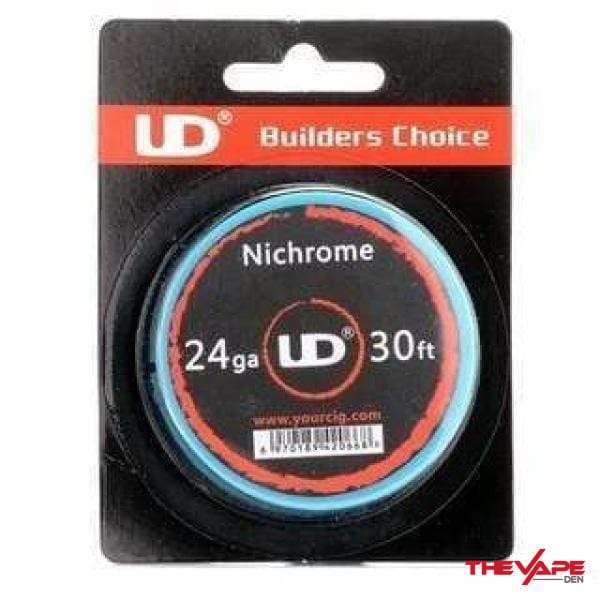 UD Wire - Nichrome - 30ft 24ga - The Vape Den