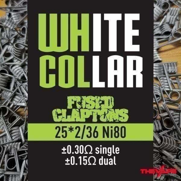 White Collar - Fused Claptons - 25*2/36 - The Vape Den