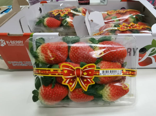 {Premium Korea Strawberry}