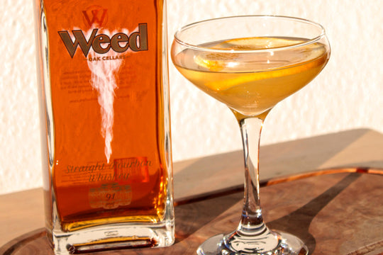 Weed Cellars Straight Bourbon Wins Gold at San Diego Spirits Festival