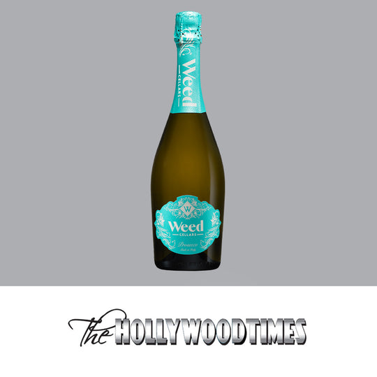 The Hollywood Times 2020 Holiday Gift Guide features Weed Cellars Prosecco