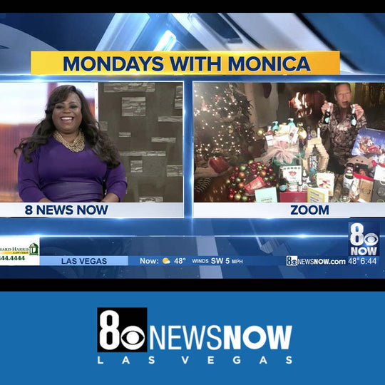 Weed Cellars featured on Mondays with Monica: Gift guru Lash Fary offers tips for gift giving this holiday season