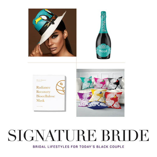 Weed Cellars Italian Prosecco featured in Signature Bride Holiday Gift Guide 2020