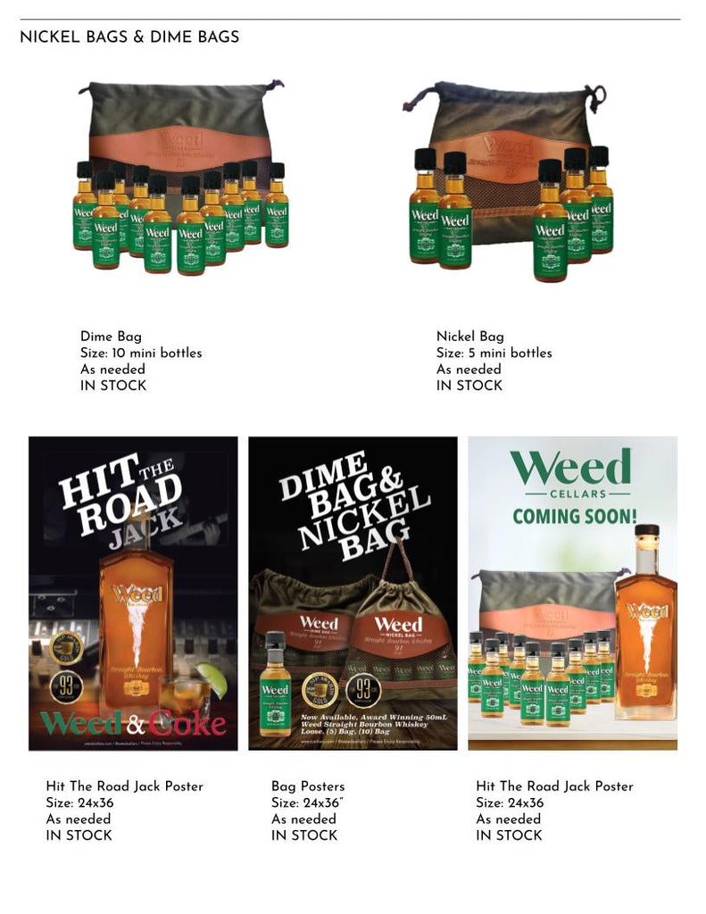 Weed Cellars Straight Bourbon Whiskey