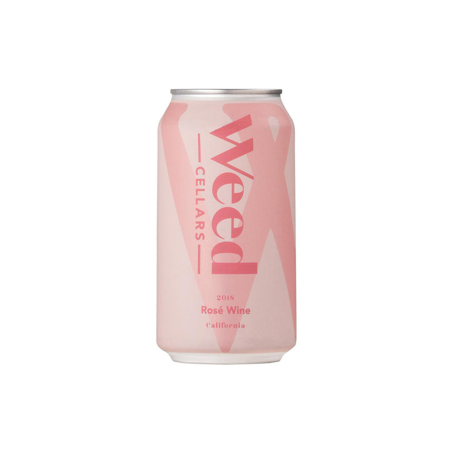 Weed Cellars California Rosé 375mL Can 2018