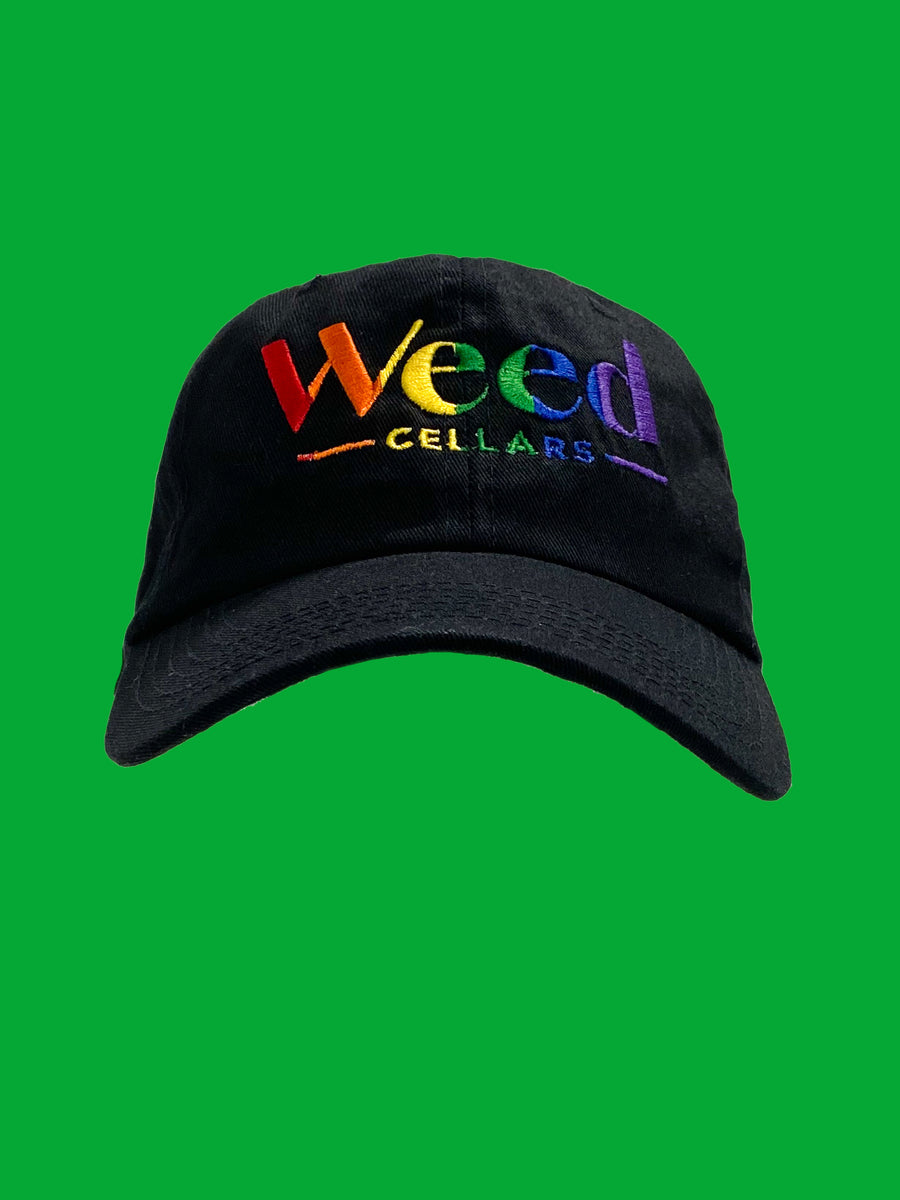 Weed Cellars Baseball Cap - Rainbow