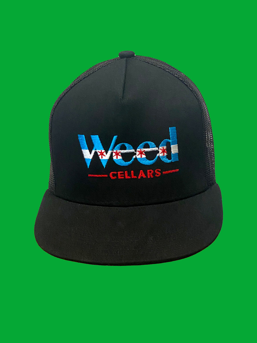 Weed Cellars Snapback Cap - Chicago