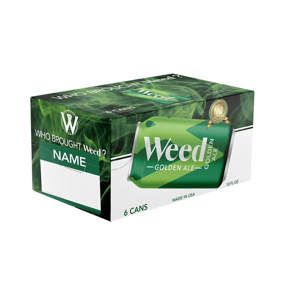 Weed Golden Ale 12oz - 6 pack