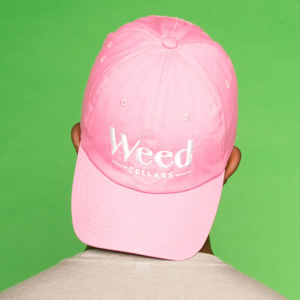 Weed Cellars  Baseball Cap - Pink