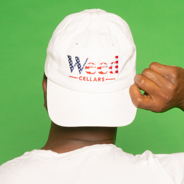 Weed Cellars USA Baseball Cap