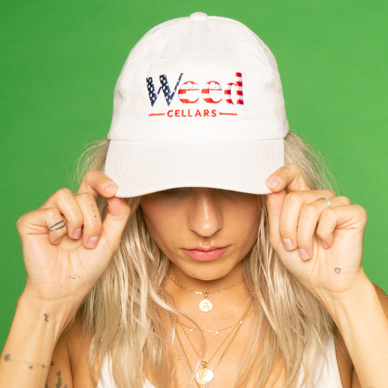 Weed Cellars USA Baseball Cap - Weed Cellars, Inc.