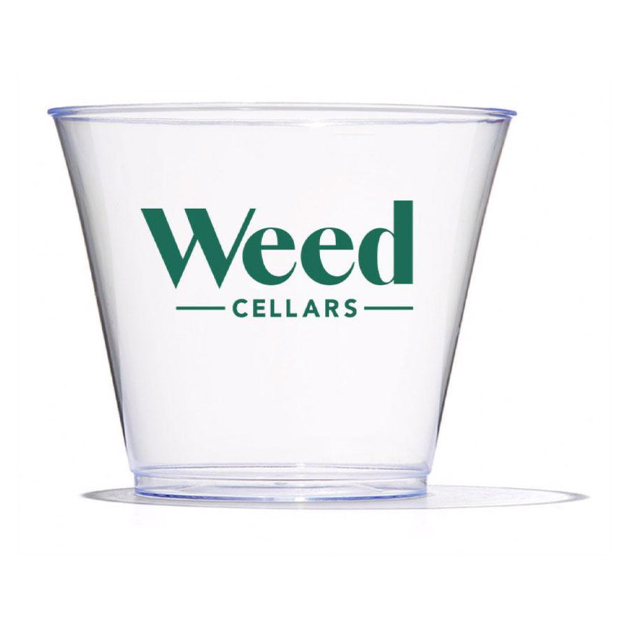 Plastic Wine Glass - Weed Cellars, Inc.