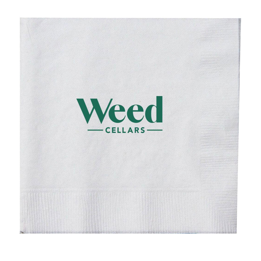 Beverage Napkins - Weed Cellars, Inc.