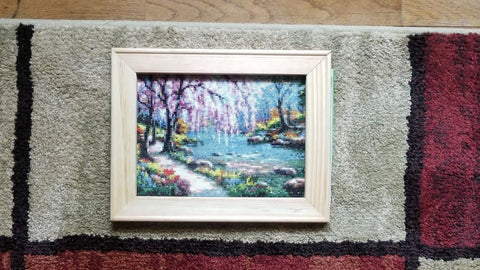 Framed Diamond Painting