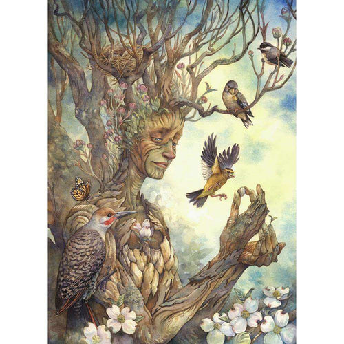 Tree Lady Diamond Painting