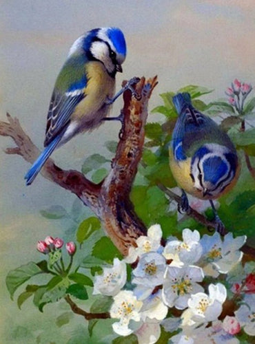 Adorable Birds Pair Diamond Painting