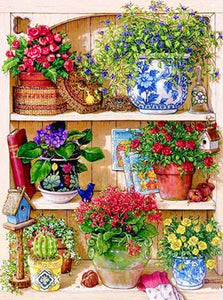 Amazing Flowers Corner Diamond Painting