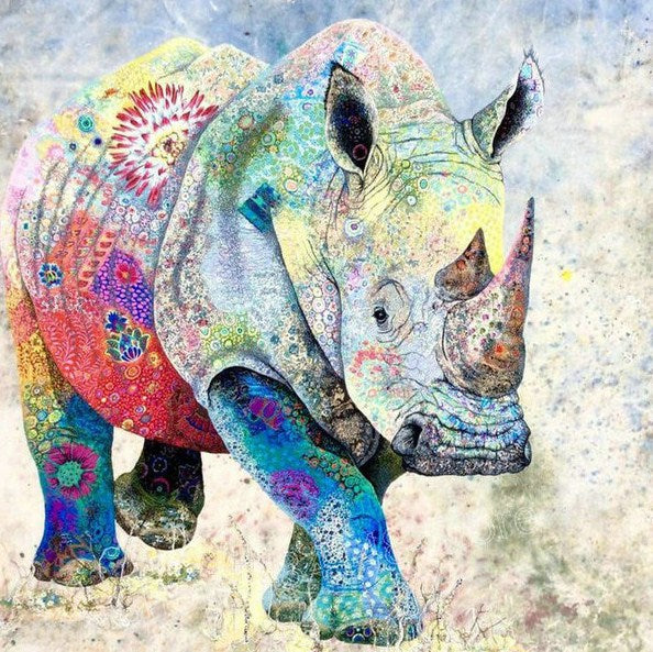 Rhino Diamond Painting
