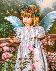 Beautiful Angel Girl Diamond Painting Kit