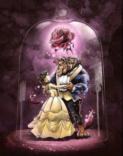 Beauty & the Beast Paint by Diamonds