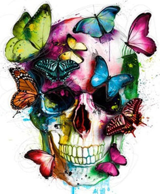 Skull art Diamond Painting