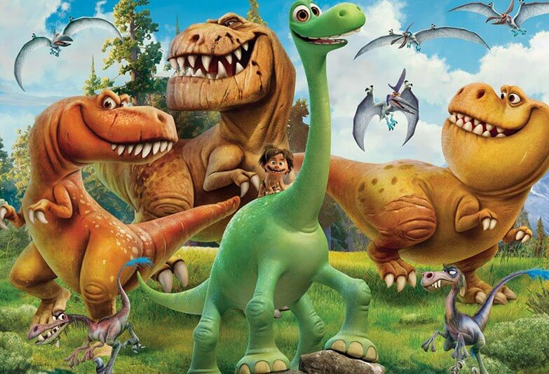Cartoon Dinosaurs DIY Painting